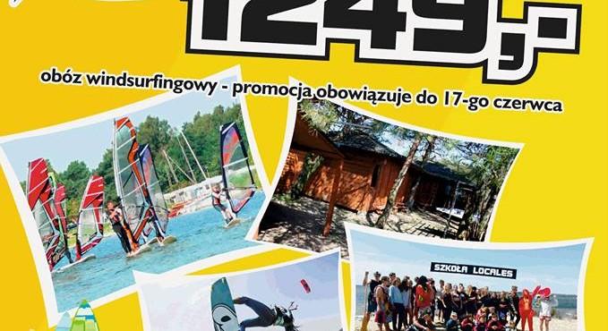 """Obóz windsurfingowy w szkółce """"Locales"""""""