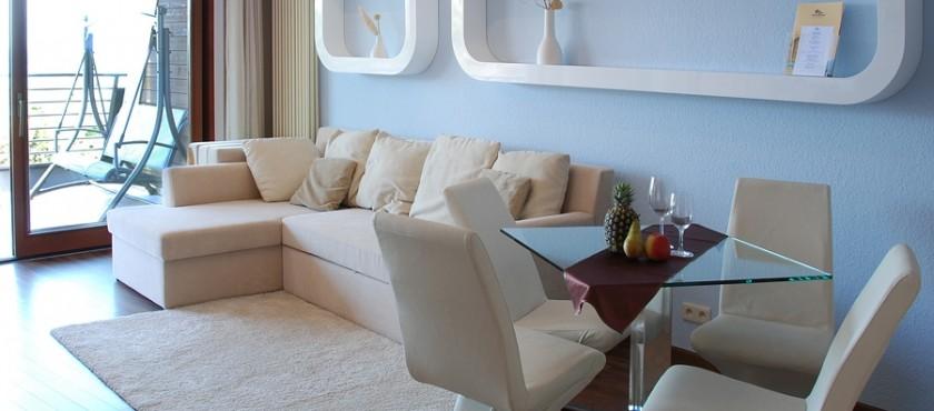APARTAMENT luksusowy, 2 pokojowy z widokiem na morze w Hotelu SPA DOM ZDROJOWY**** Jastarnia