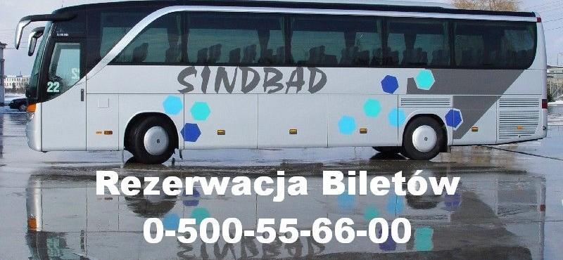 Rezerwacja biletów autokarowych Sindbad