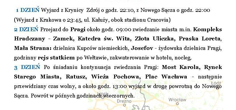 Praga 11.11 – 13.11.2016