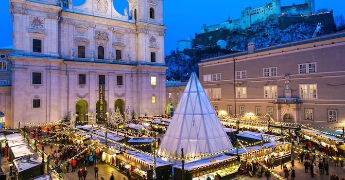 Jarmark Bożonarodzeniowy w Salzburgu