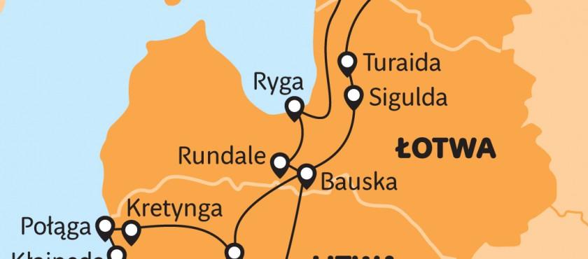 Bałtyckim szlakiem- Litwa- Łotwa- Estonia!