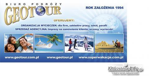 Krajowe wakacje – Geotour – od 609zł/7dni!