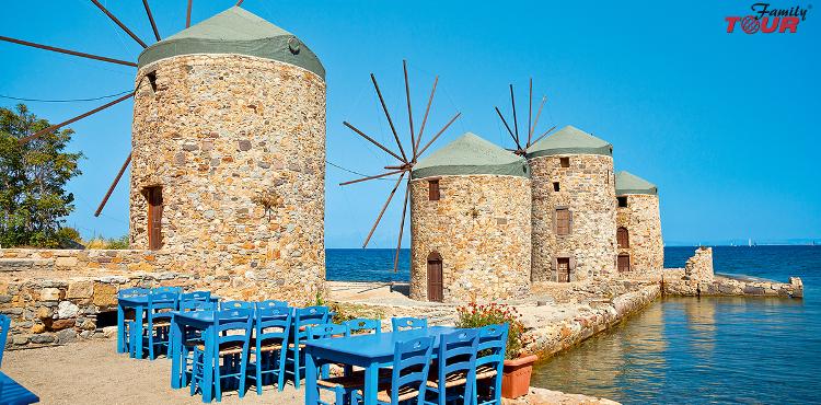 Wakacyjne nowości lato 2018! Grecja wyspa Chios!