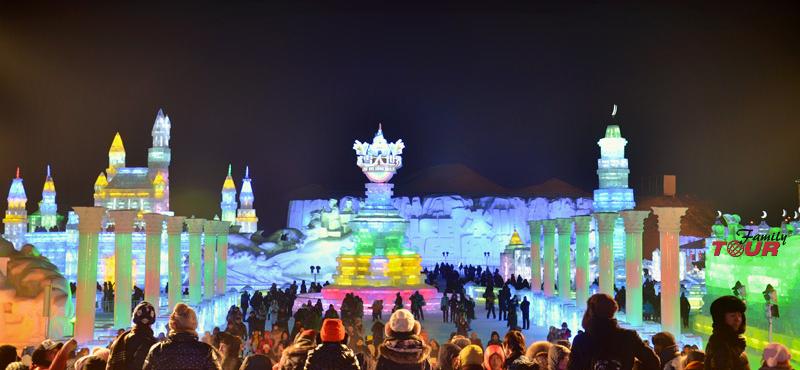 Zapraszamy do Chin! Festiwal Rzeźby Lodu i Śniegu w Harbin!