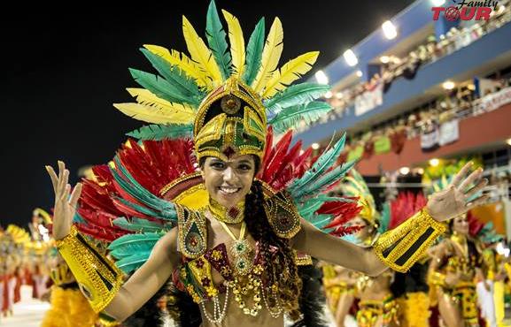 Zatańcz gorącą sambę w RIO de Janeiro!