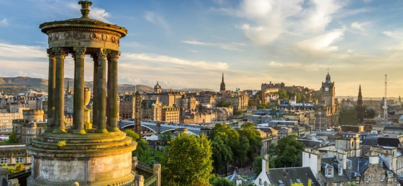 Szkocja – Edynburg – Indywidualny Kurs J. Angielskiego z Geotour