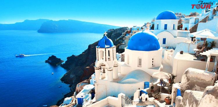 Królowa Cyklad Santorini zaprasza na wakacje! Wylot z Katowic!