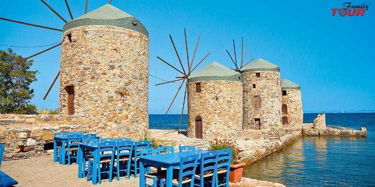 Bajeczna Grecja- wyspa Chios! Chill out po grecku!