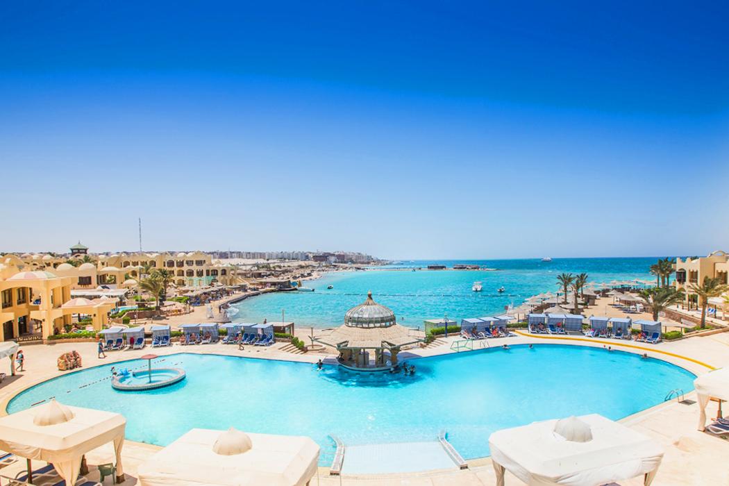 Egipt, Hurghada, Hotel Sunny Days Palma De Mirette.
