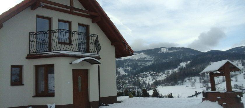Ferie zimowe – domek w górach, noclegi