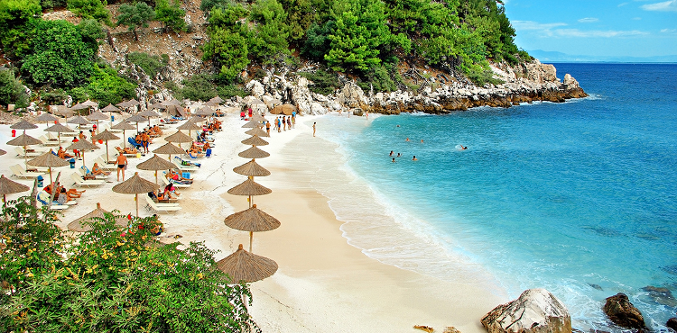 Szmaragdowa Wyspa Morza Egejskiego Thassos!