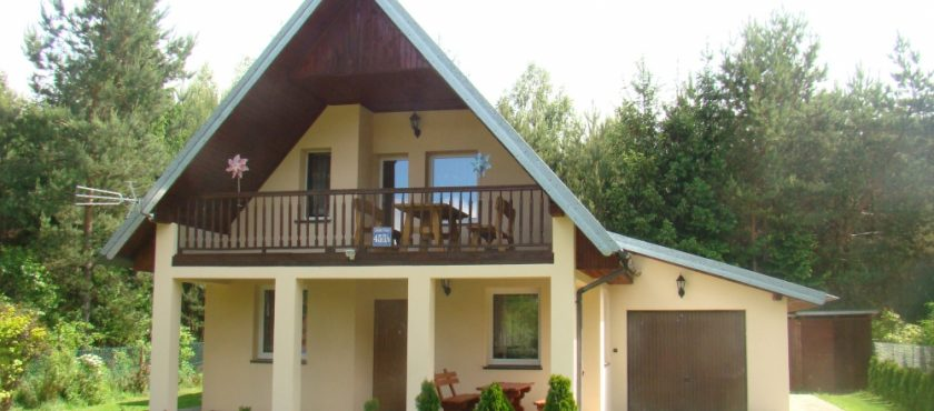 Mazury, dom 10-osobowy Jerutki