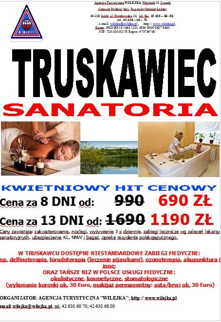 Sanatoria w Truskawcu