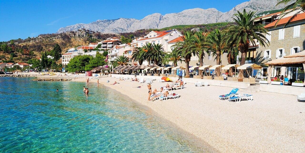 Mały kraj na wielkie wakacje! Chorwacja Podgora Hotel Aurora!