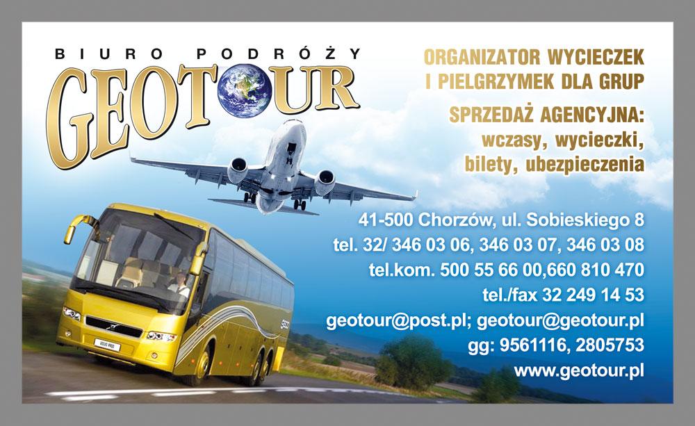 Biuro Podróży Geotour Chorzów – Fajne oferty turystyczne i miła obsługa – zapraszamy