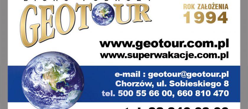 Geotour Chorzów – Biuro Podróży z 25 letnim doświadczeniem