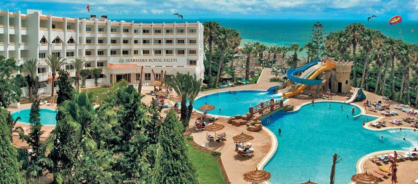 Tunezja -turkusowe morze nie tylko na Karaibach!