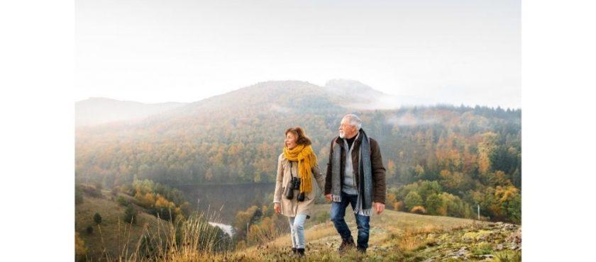 Jesień w górach dla seniora
