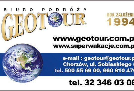 Geotour Chorzów – oferuje bilety firmy Sindbad