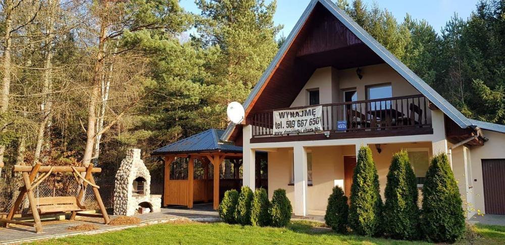 Mazury, dom komfortowy 10-osobowy